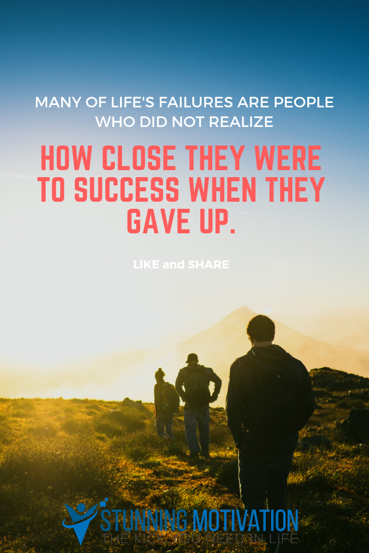 Motivational Never Give Up Quote Alive Inspiration Determination Poster Photo