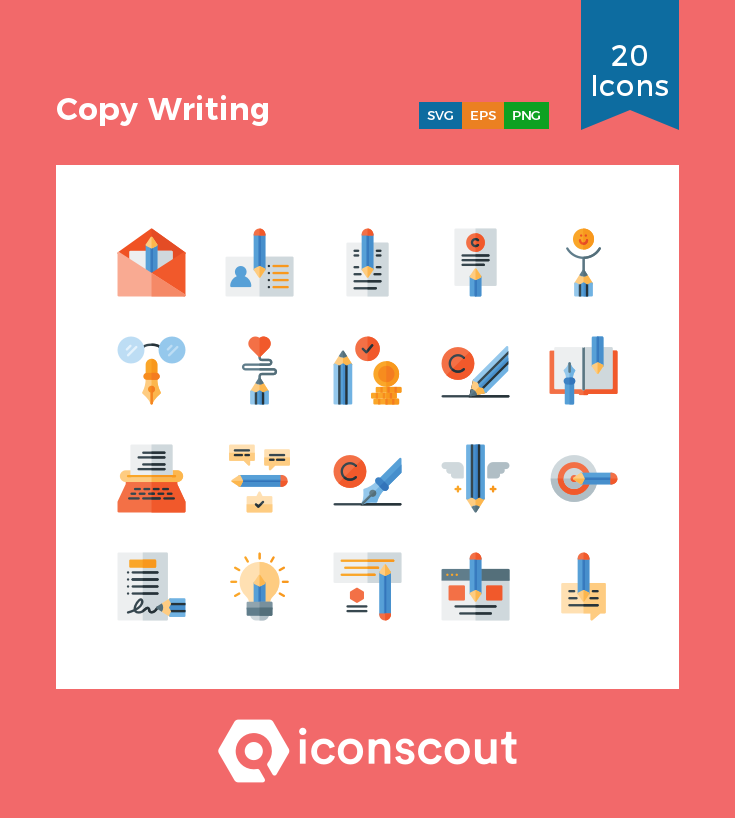 Download Download Copy Writing Icon pack - Available in SVG, PNG ...