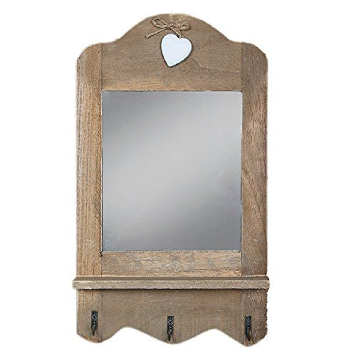 Shabby Chic Mirror Scalloped Mirror with three hooks and ... https://www.amazon.co.uk/dp/B00TPQYCNG/ref=cm_sw_r_pi_dp_x_PT5BybR8ZSNQR
