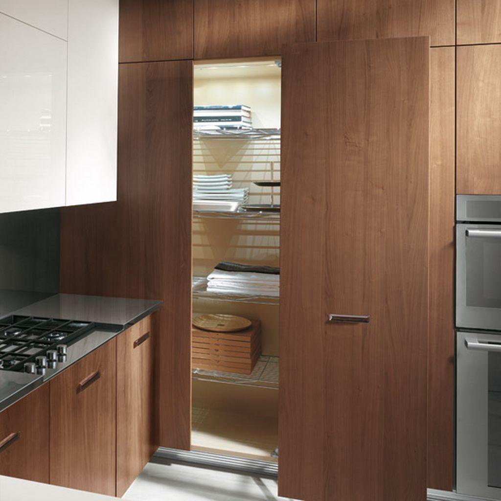 Sliding Door Kitchen Cabinet Design | Minimalist kitchen ...