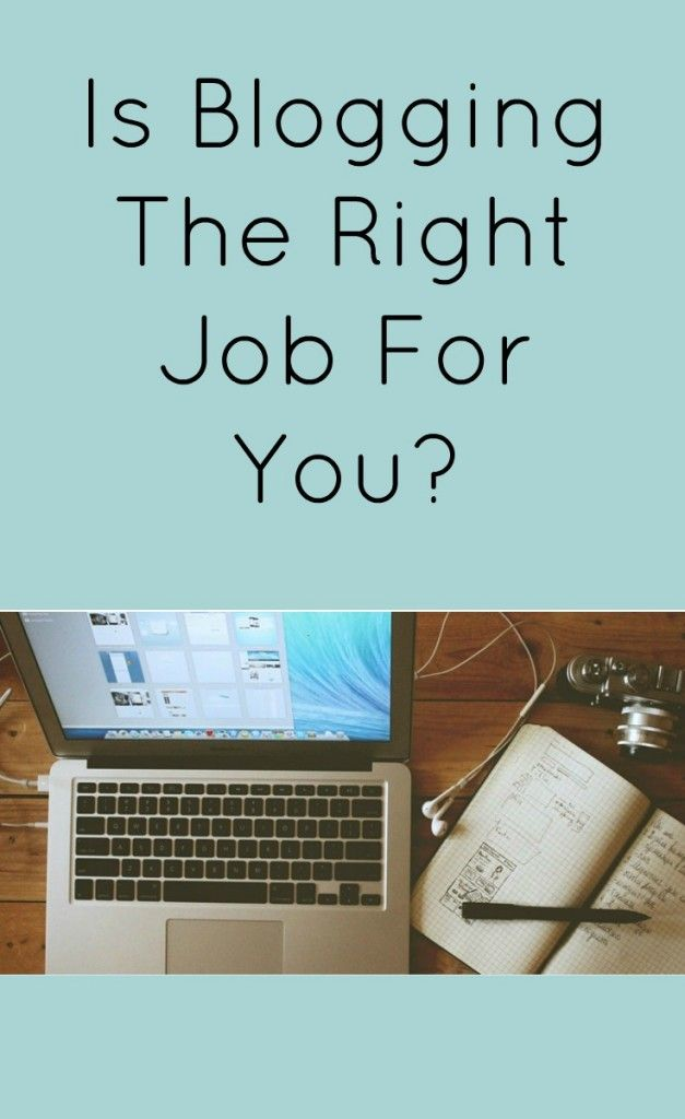 Is blogging for a living (aka professional blogging) right for you