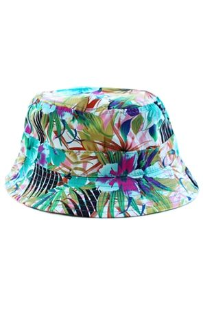 7c01d35e1a5f6 Rad Bucket Hat Floral Print Streetwear Fresh Dope Sick Fashion Radisrad Teal