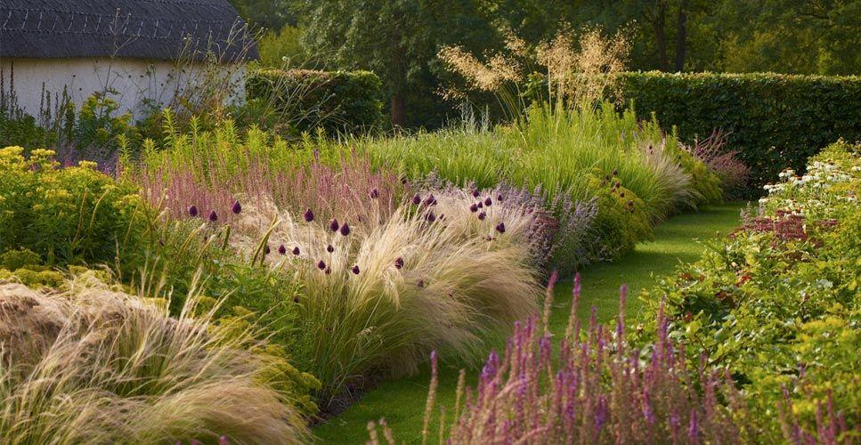 Tom stuart smith photo by allan pollok morris plants for Ornamental grass garden layout