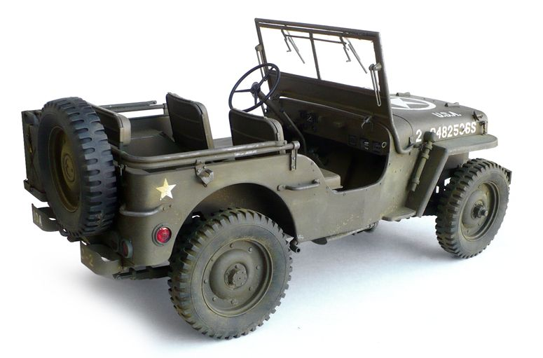 """Here are some images of Dragon's 1/6 scale Willys MB 1/4 Ton 4x4 Jeep.   From Wikipedia""""   The Willys MB  (commonly known as a J..."""