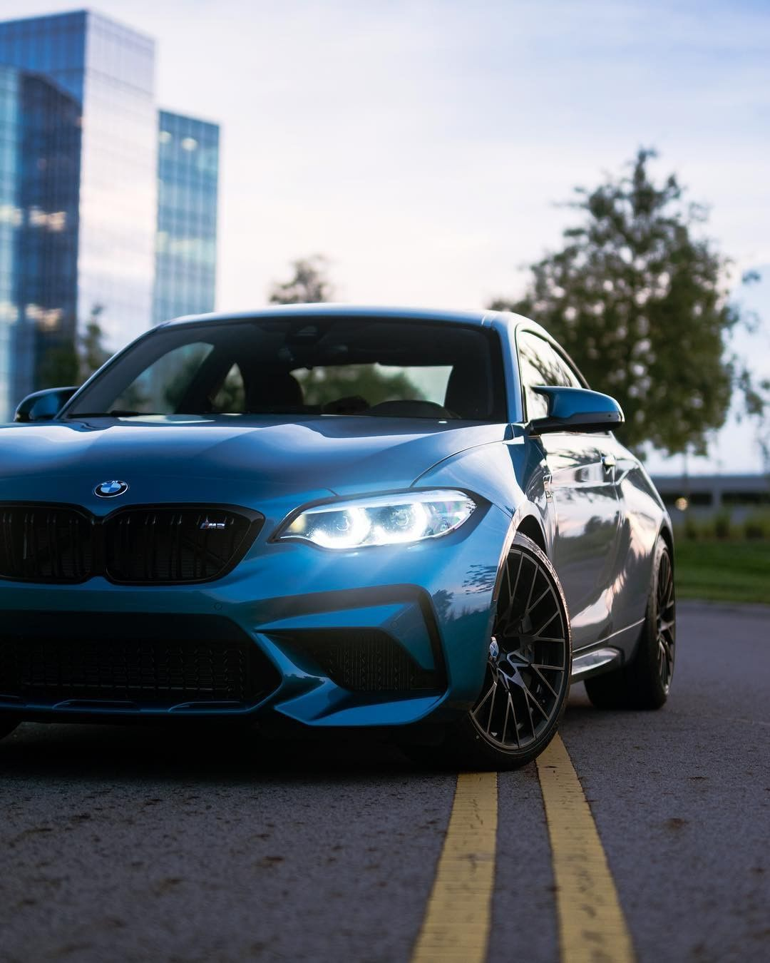 Bmw F87 M2 Competition In Long Beach Blue Metallic Bmw M2 Bmw