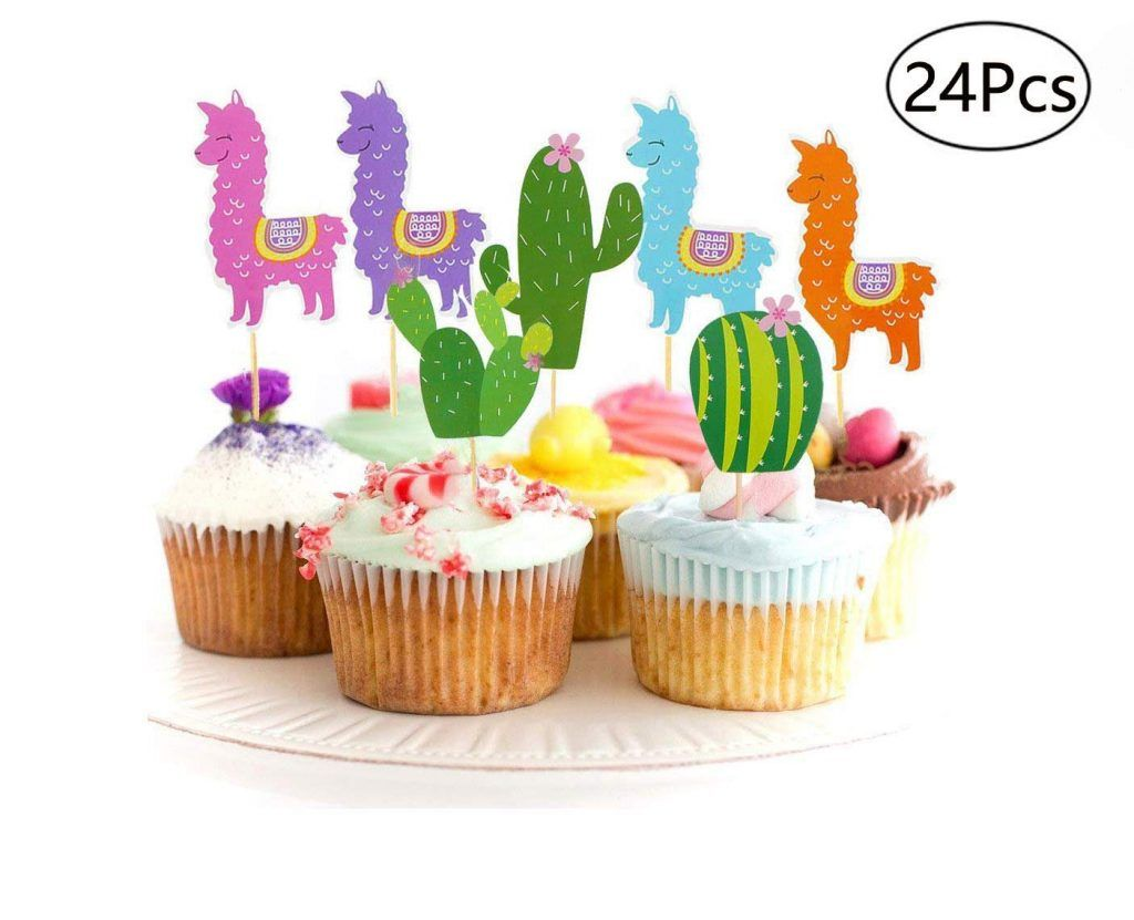Fiesta Party Margarita /& Beer Topper Cactus Cupcake Toppers Fiesta Cupcake Picks Guitar Cupcake Toppers Fiesta Cupcake Toppers
