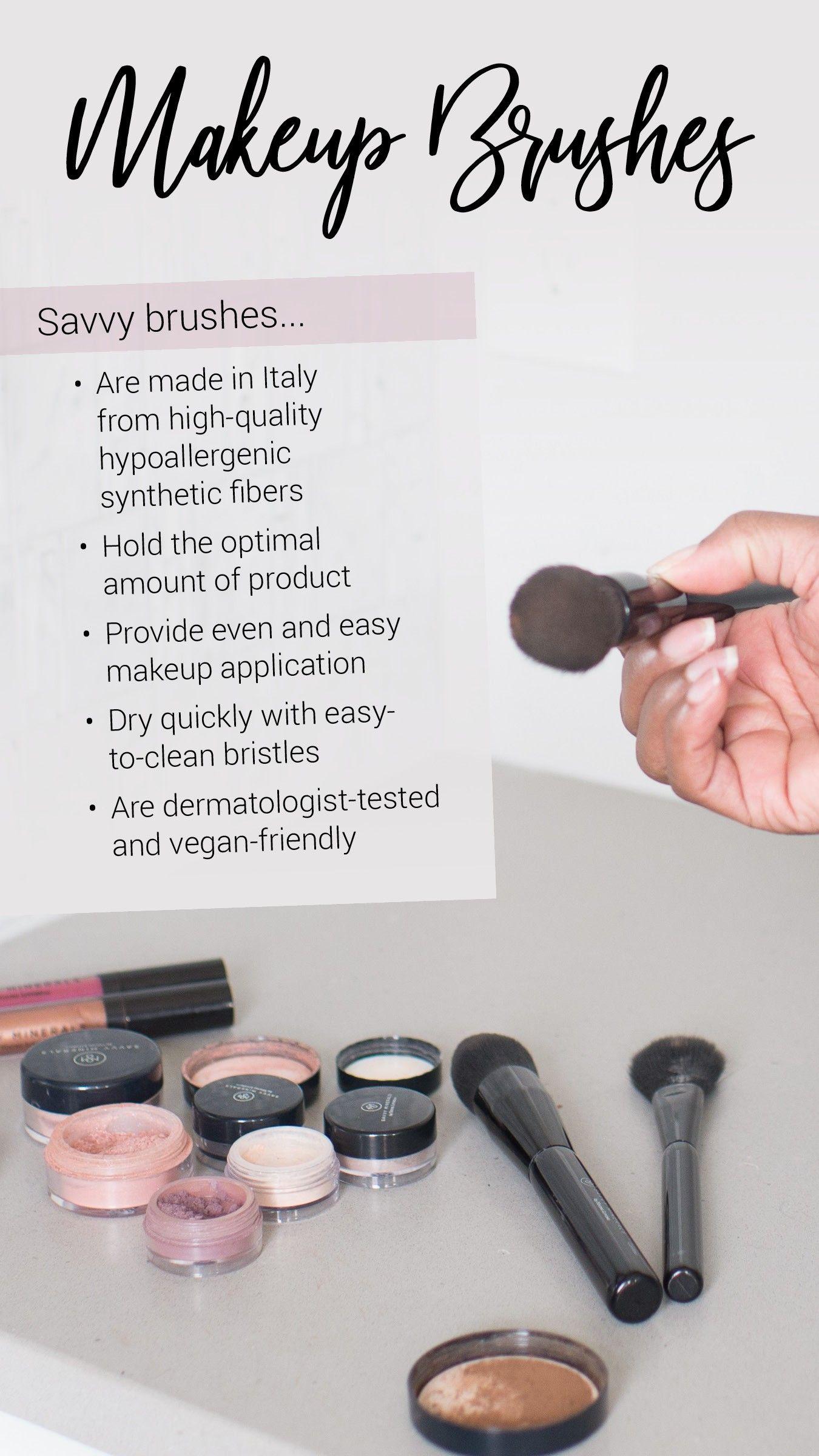 Savvy Makeup Brushes Beauty YoungLiving