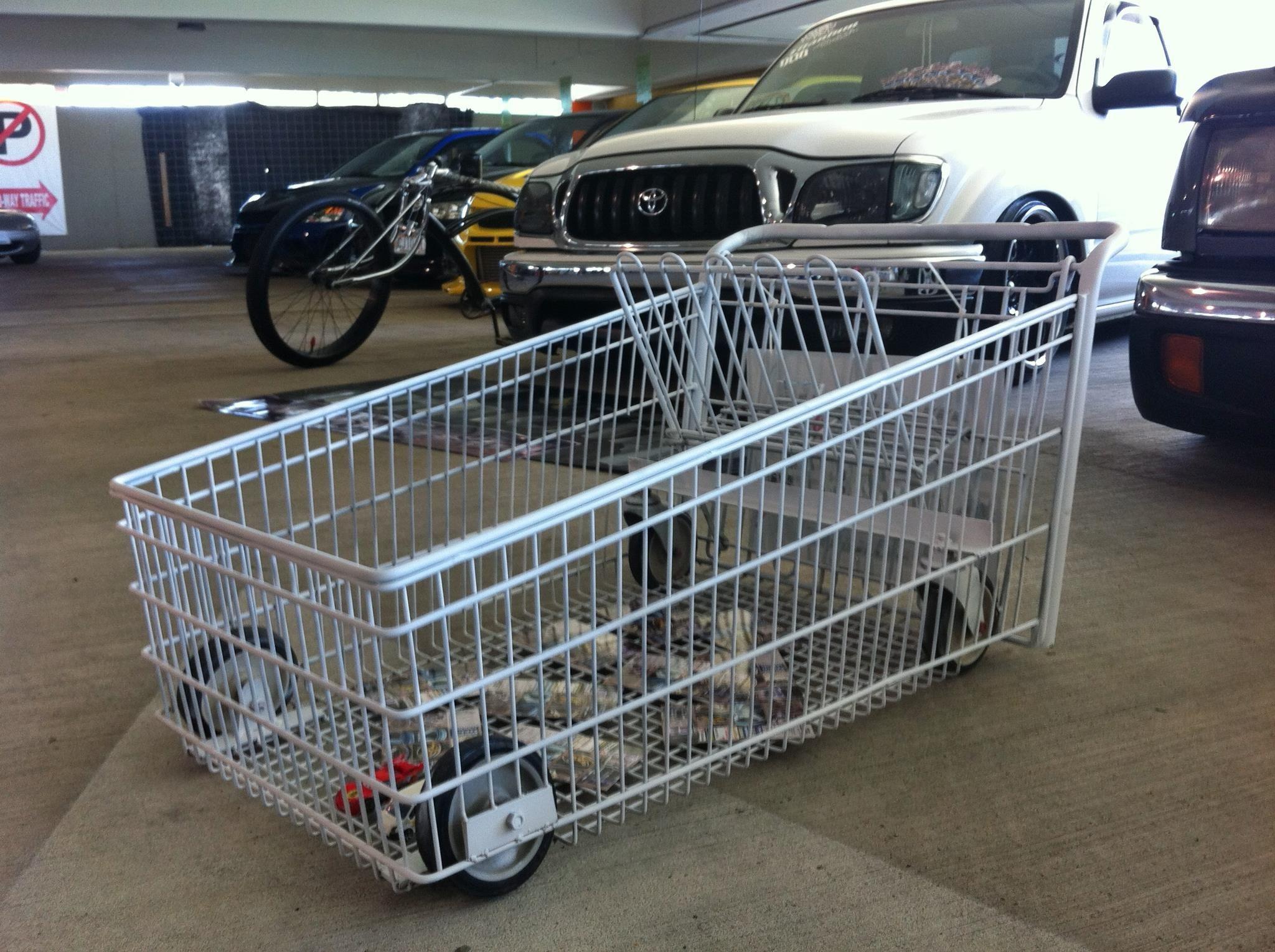 Slammed Shopping Cart Swag Hahaha Go Kart Cycle Car Wagons