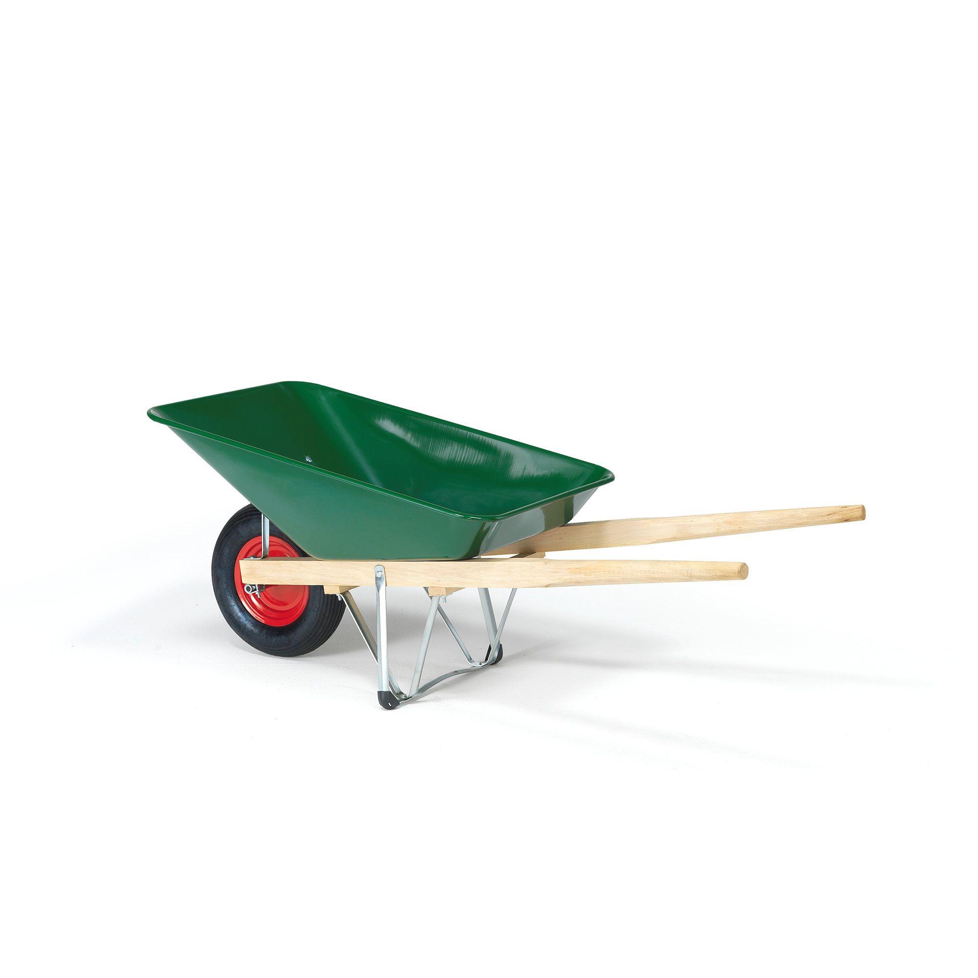 Classic Wheelbarrow 110 L In 2020 Wheelbarrow Wooden Handles Classic