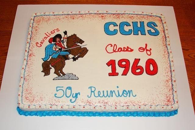 18x24 Class Reunion Cake To Serve 100