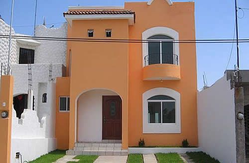 Color de pintura para exterior de casa 2015 buscar con - Pintura para fachadas exteriores ...