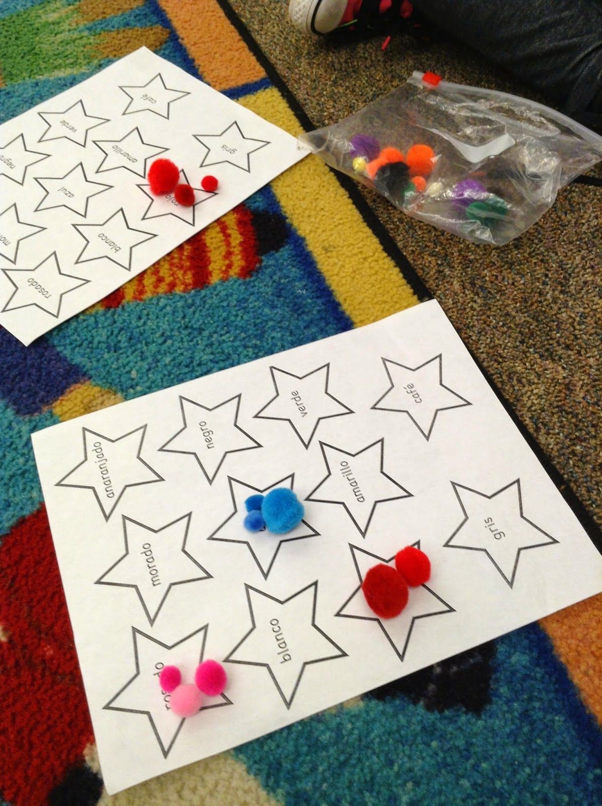 Fun And Easy Colors Activity For The Beginning Of School