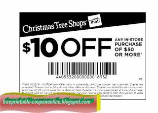 image regarding Christmas Tree Shoppe Printable Coupons called Absolutely free Printable Xmas Tree Stores Discount codes Printable