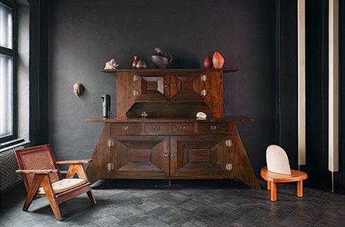 Zwarte woning interieur designer Sylvester Koziolek | Interieur inrichting