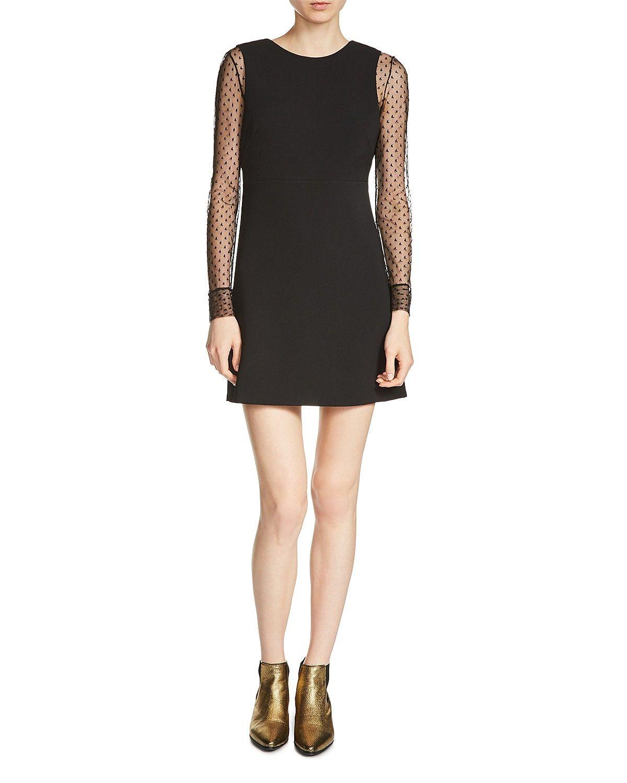 Maje Rimelle Layered Look Dress | Maje dress, Layered look