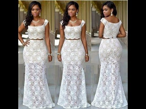 100 Latest Lace Styles & Colours for Women (Nigerian ...