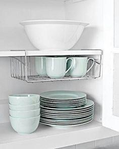 Under shelf cup holder