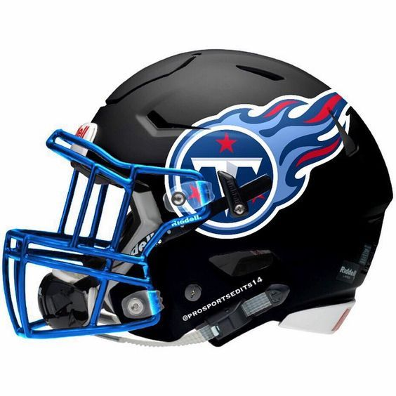 Pin By Danal On Football Concepts And Art With Images Football Helmet Design Titans Football Football Helmets