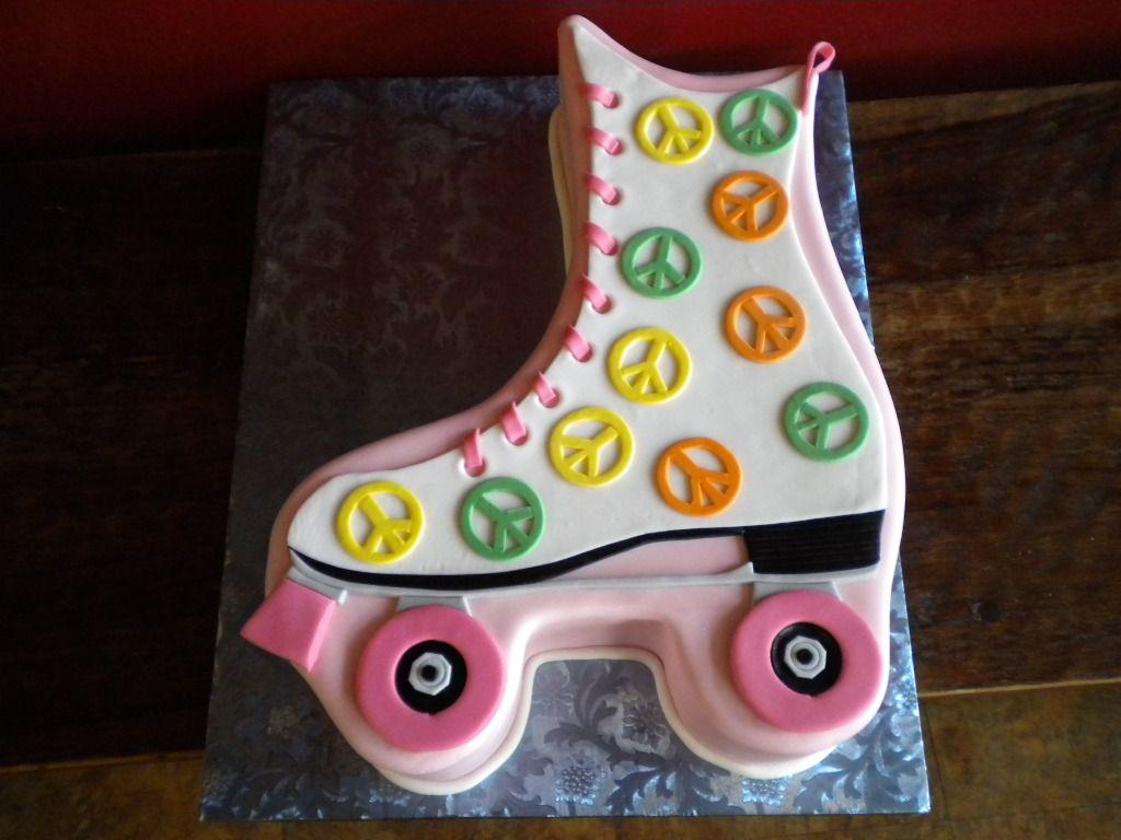 Roller skates las vegas - Roller Skate Cake