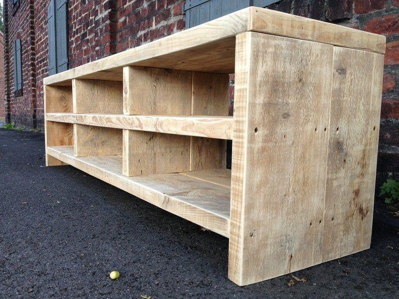 Bauholz Sideboard Lowboard Bauen Mit Holz Diy Sideboard Sideboard Selber Bauen
