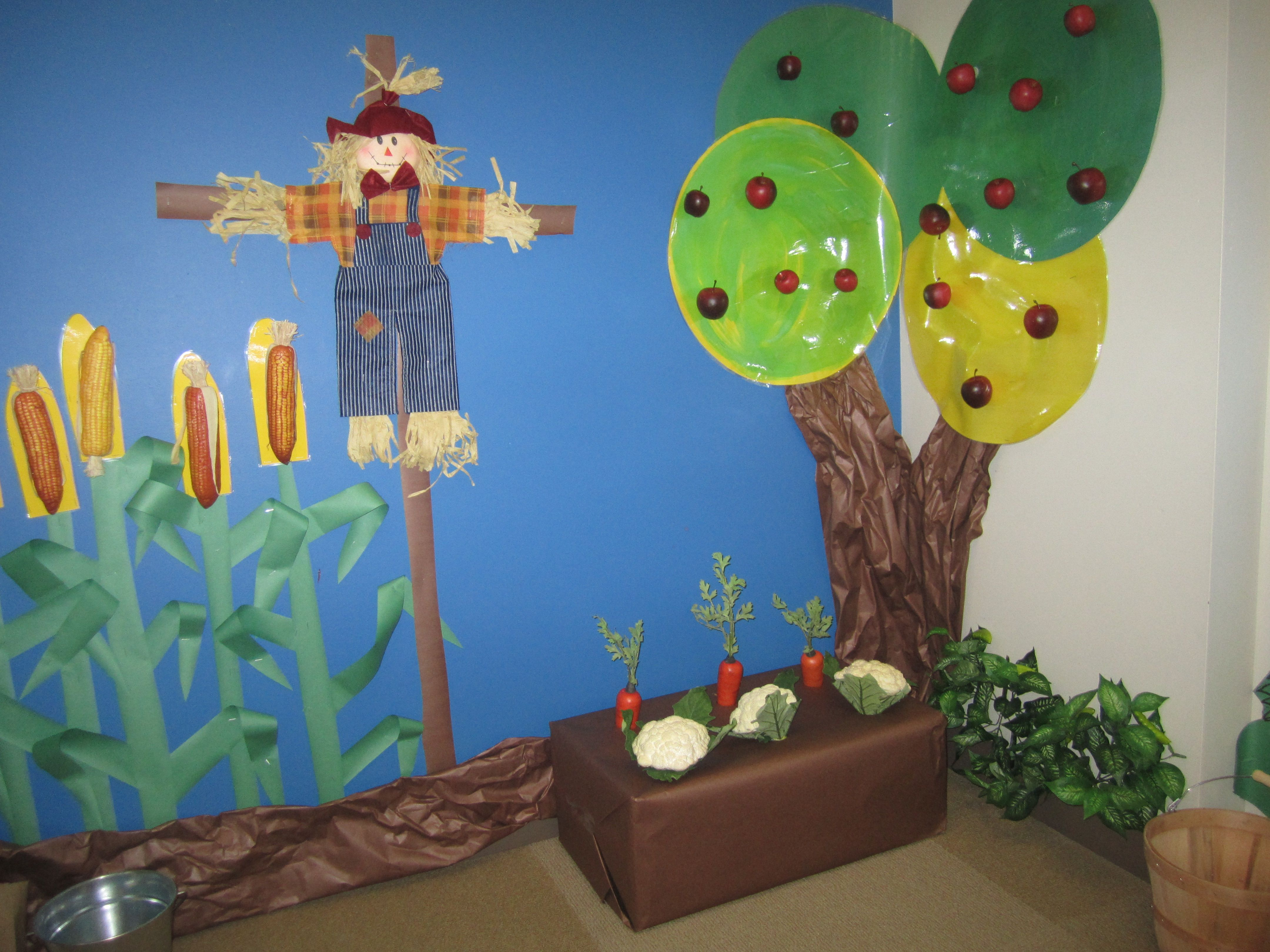 Dramatic Play Farm Pick The Vegetables And Fruit