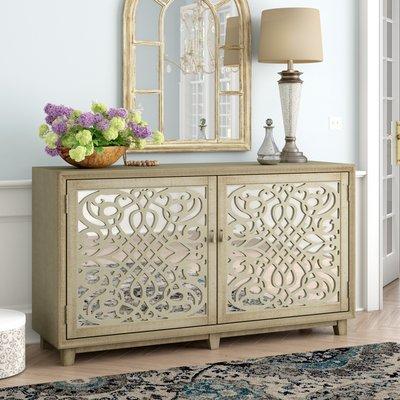 Best One Allium Way Kapp 2 Door Credenza Accent Cabinet Home 400 x 300