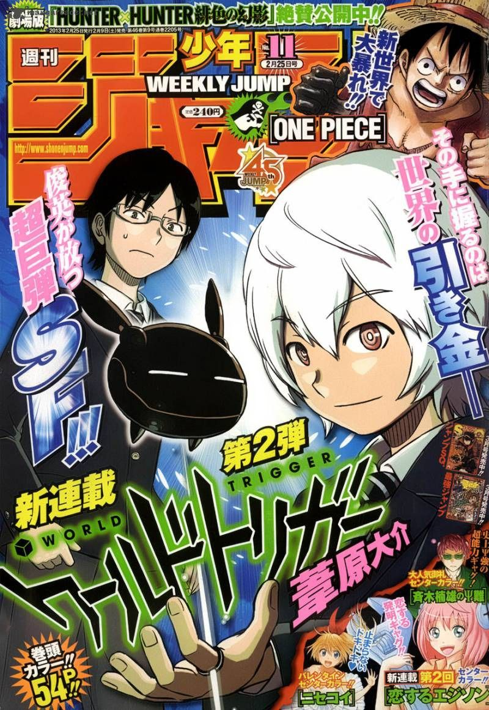 Ler mangá World Trigger Capítulo 01 online Read manga