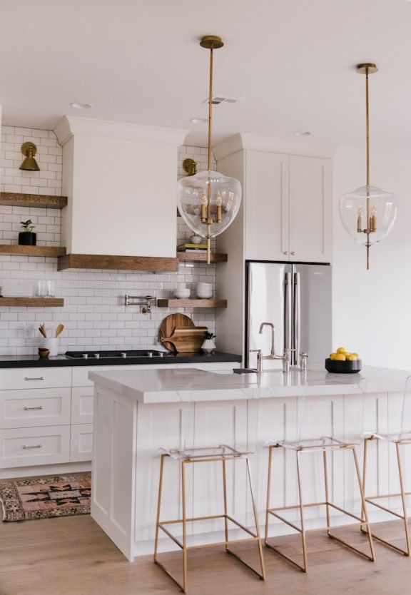 Villa Bonita Kitchen Reveal with BrizoBECKI OWENS #kitchen