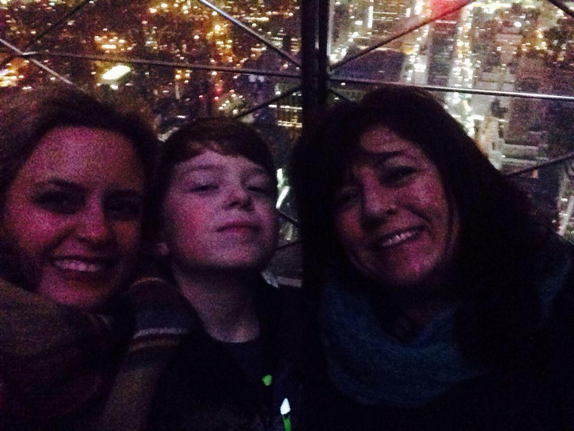 Empire State selfie. Christmas 2014