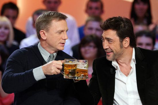Daniel Craig And Javier Bardem Show Bond's New Interest In