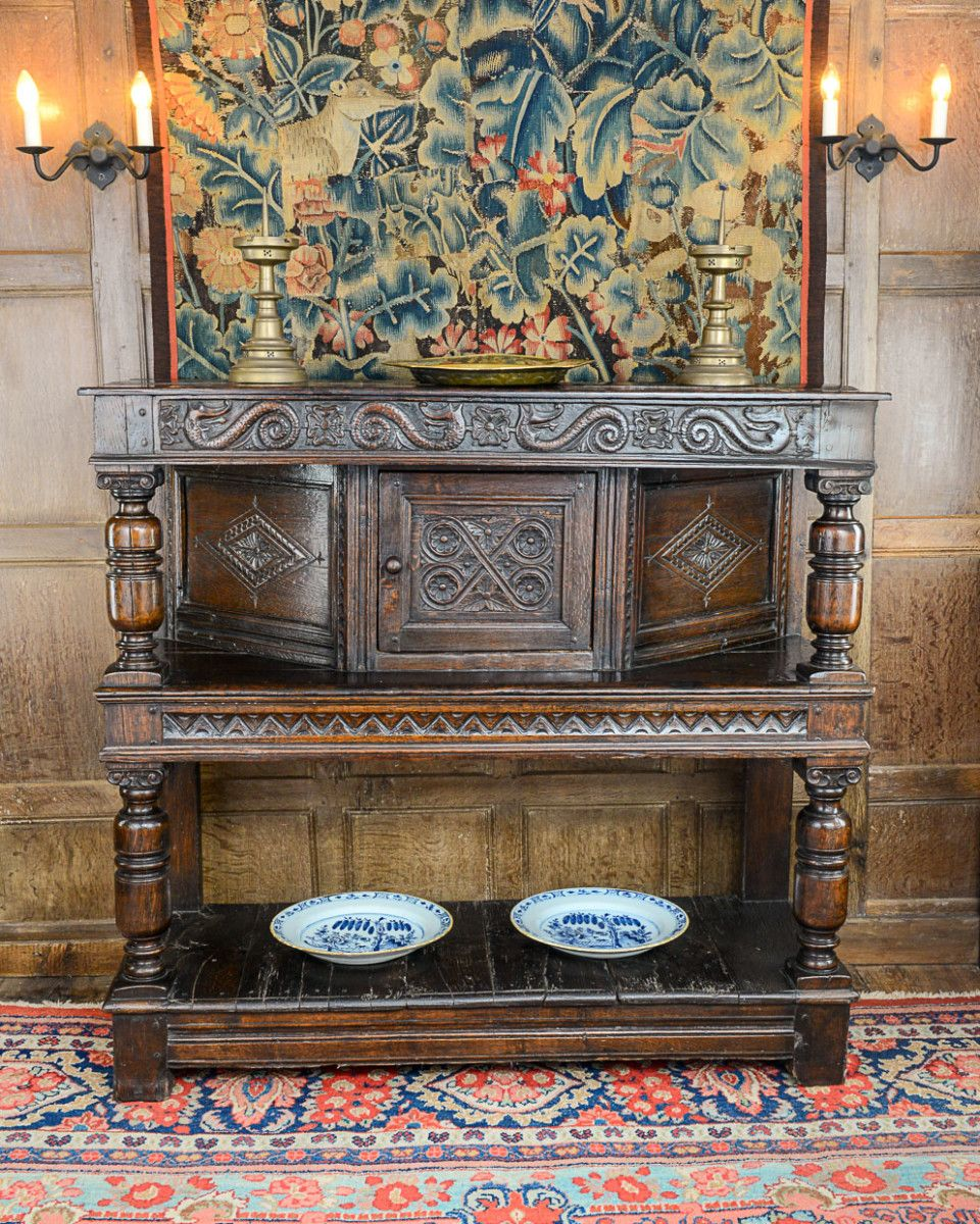 Charles I Joined Oak Livery Cupboard Marhamchurch Antiques  # Muebles Ebano Vargas