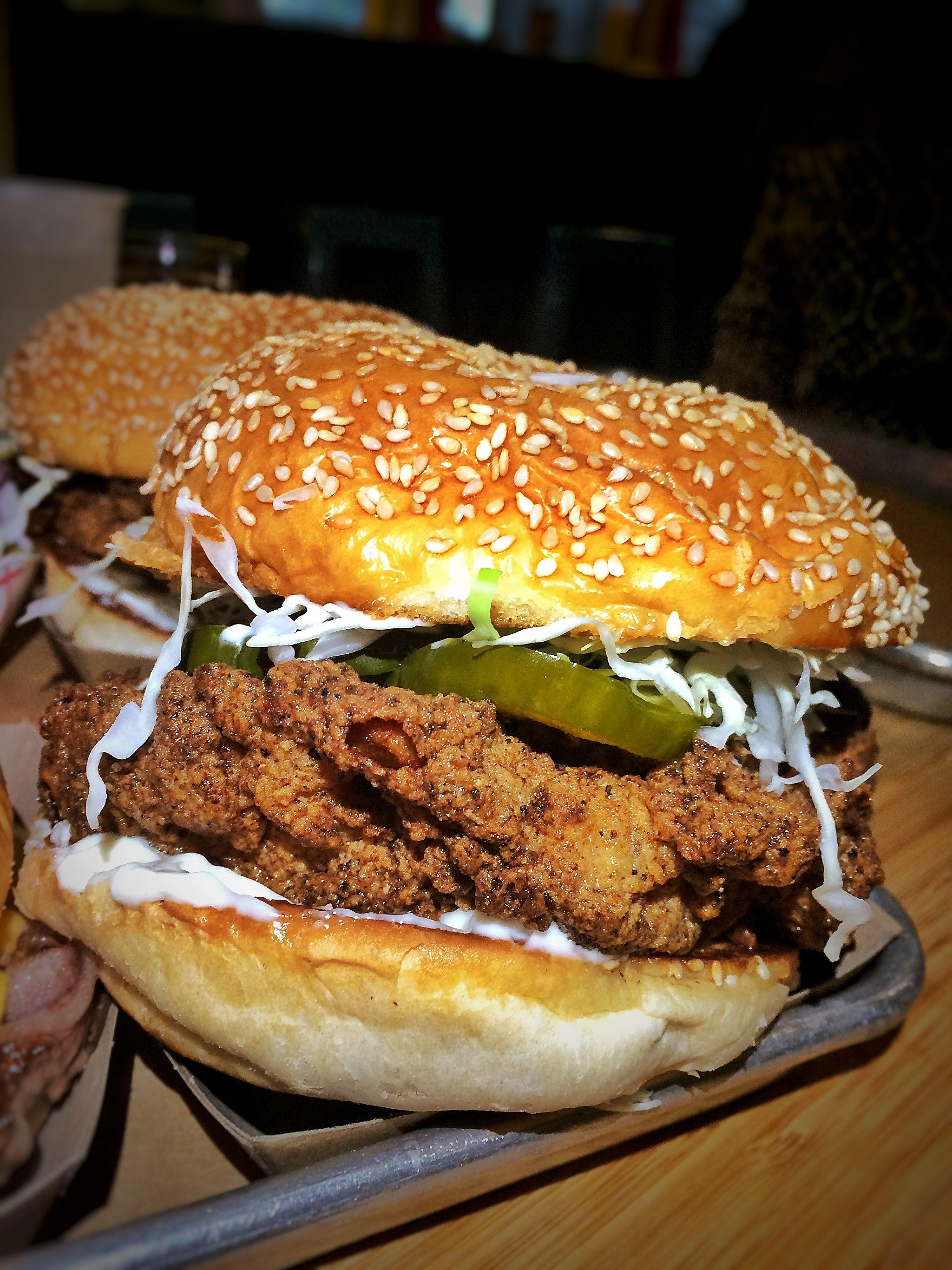 Tuesday chicken sandwich chicken evieeats nola panyburger