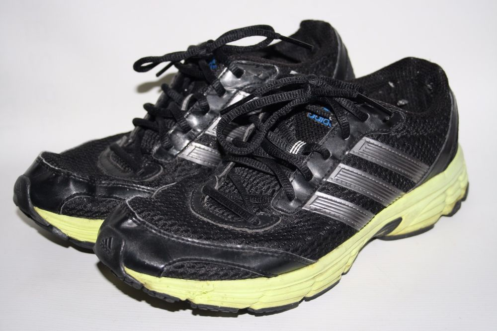 0a585b9da7d99a Adidas Run Smart Litestrike EVA Trainers Black Neon Green Cross Fittness 7  UK