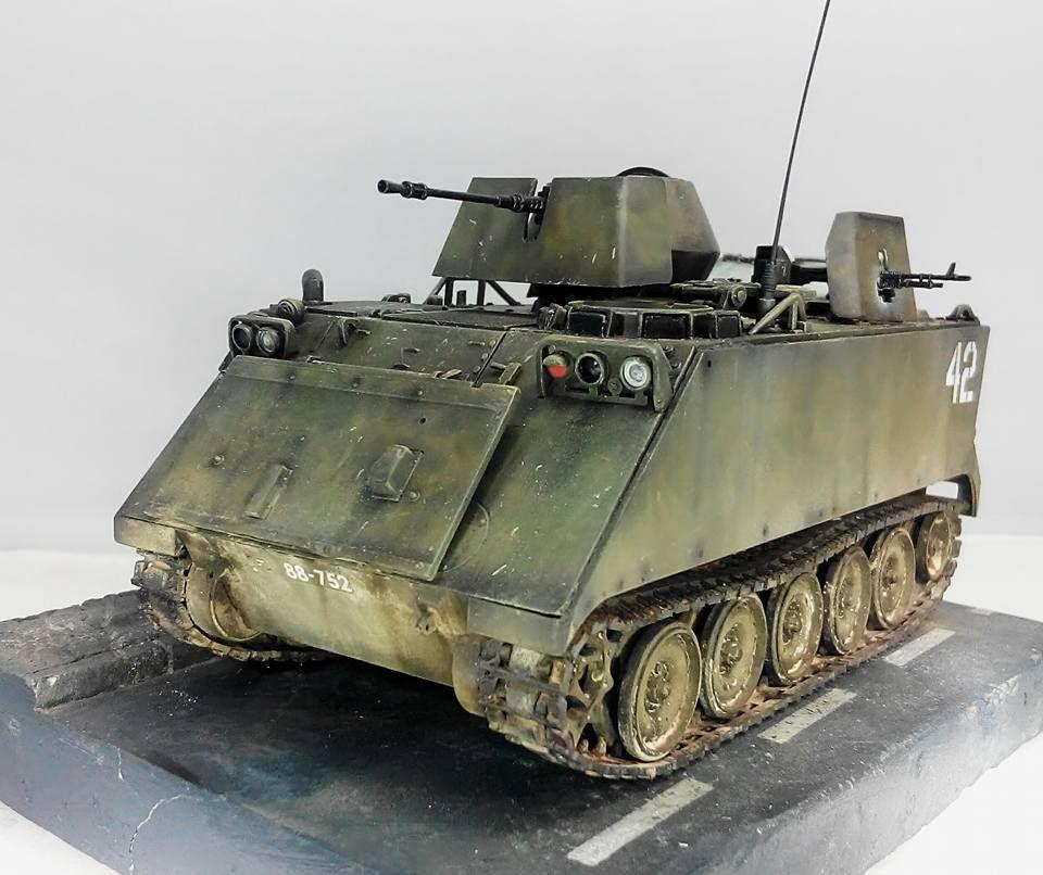 1:35 M113a1 A.p.c Vietnam Model Kit
