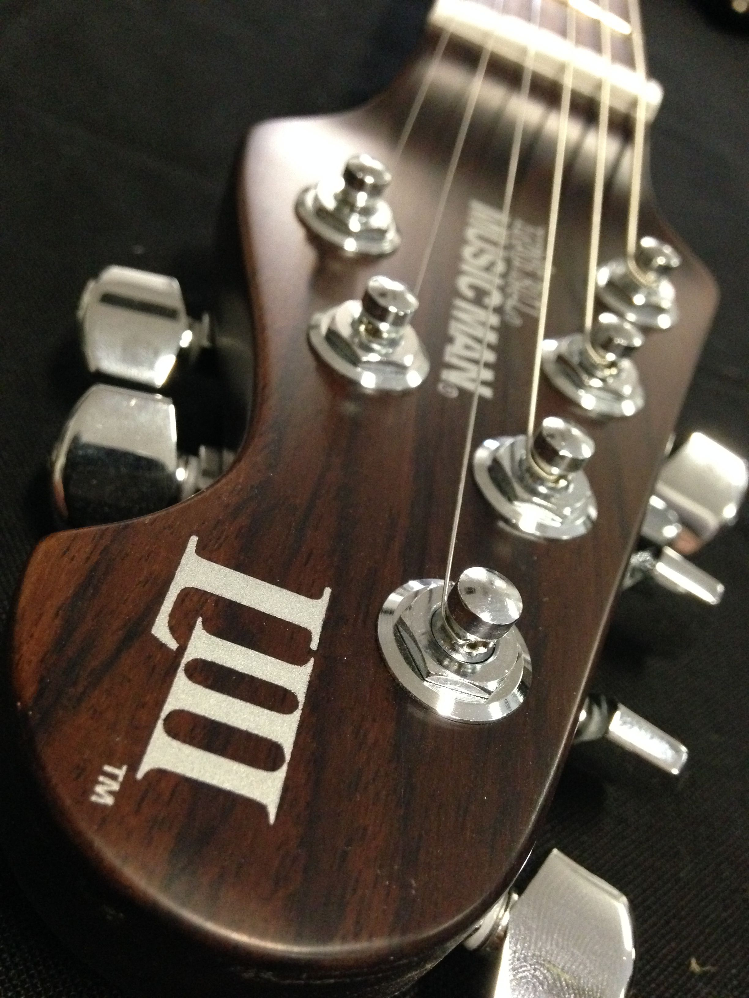 Custom Luke III with an all rosewood neck & a one off Vintage sunburst finish