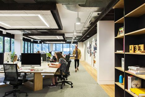 Movie Sydney office combines New York loft with Scandinavian