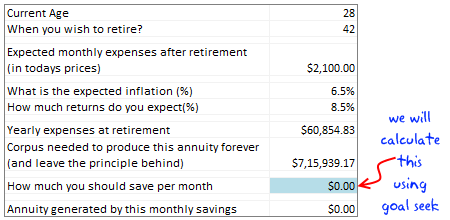 retirement planning worksheet using excel excel pinterest