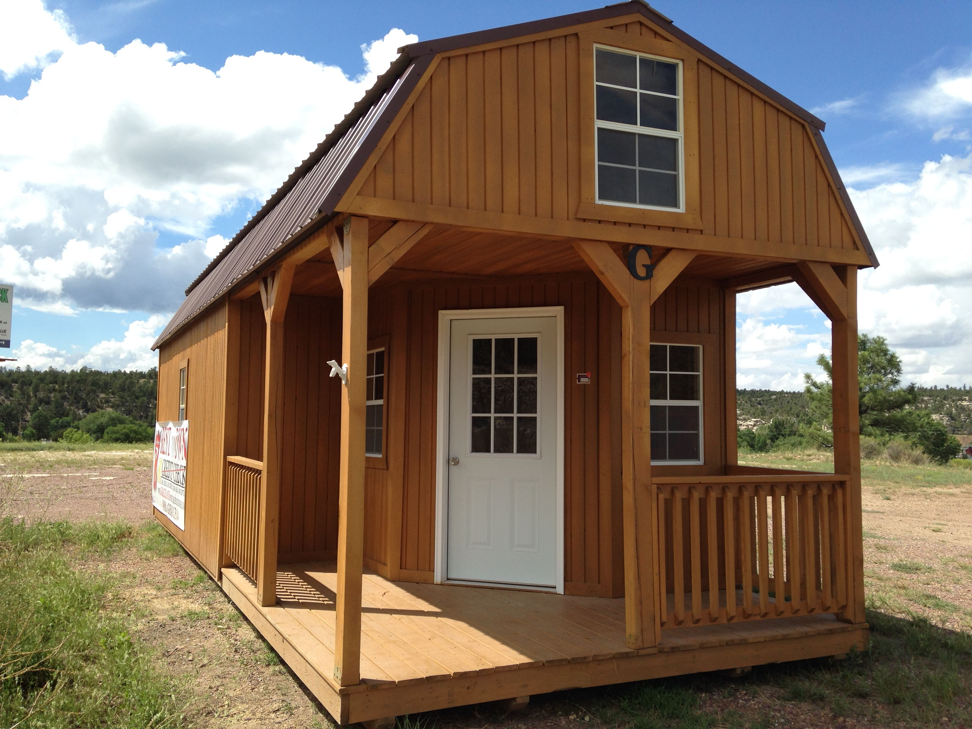 Wraparound Lofted Barn Cabin Barn Style Shed Shed With Porch