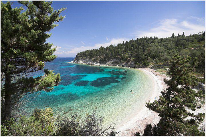 Paxoi island,Kipos beach