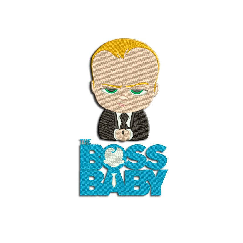 Disney embroidery design Baby Boss 2 in 1 Machine embroidery