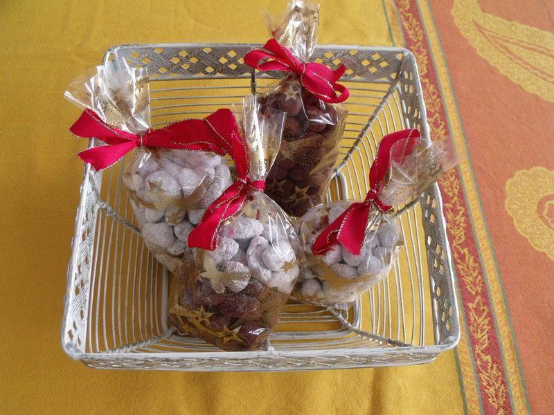 Amandes au chocolat