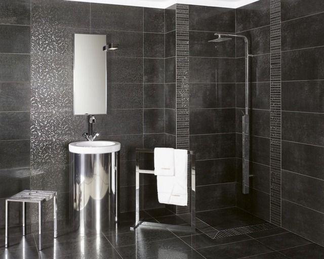 Carrelage salle de bains 34 id es avec la belle mosa que - Pose carrelage mural salle de bain ...