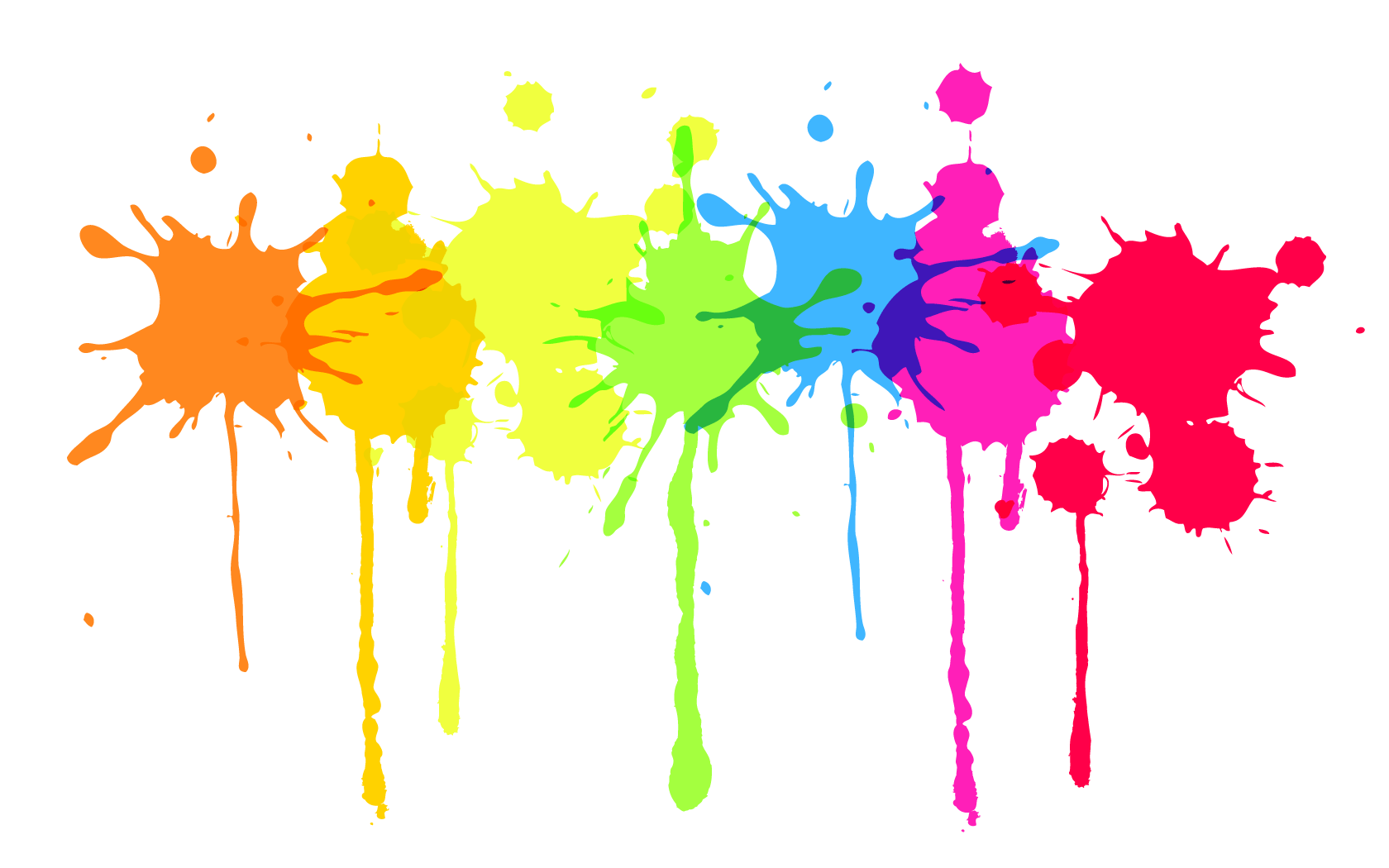 Splatter Paint Twitter Backgrounds ClipArt Best ClipArt Best