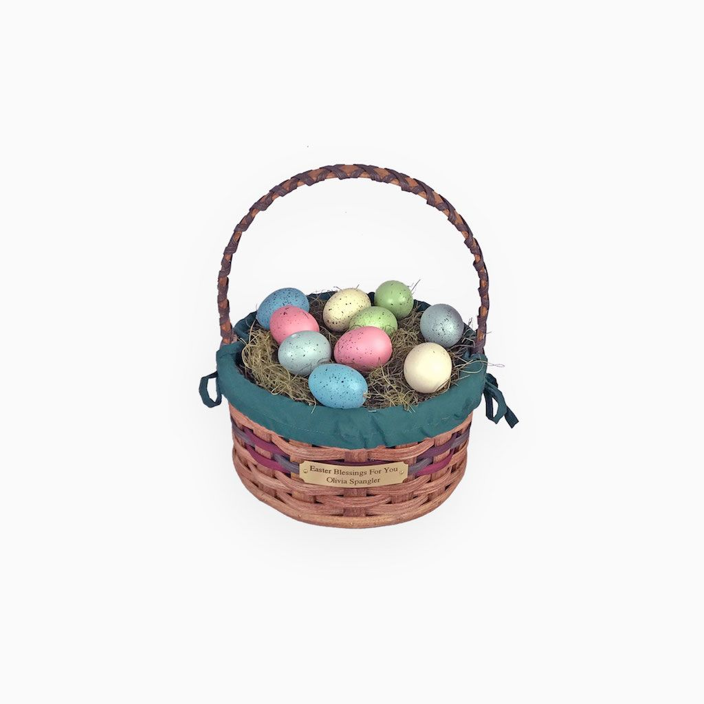 Give your child an heirloom amish heirloom easter baskets from easter give your child an heirloom amish heirloom easter baskets negle Image collections