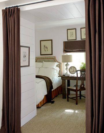 Fresh Curtains for Small Basement Windows