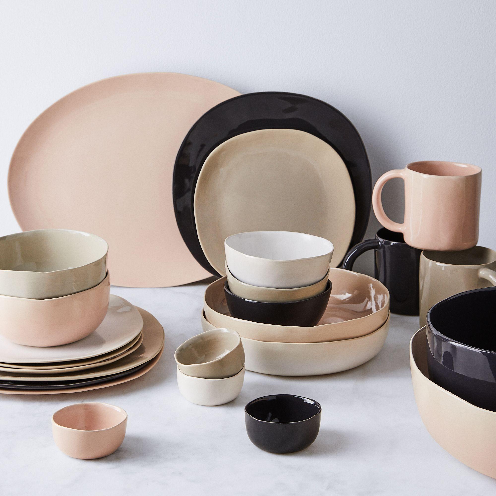 Organic Ceramic Dinnerware On Food52 Ceramic Dinnerware Ceramic Dinnerware Set Dinnerware Simple