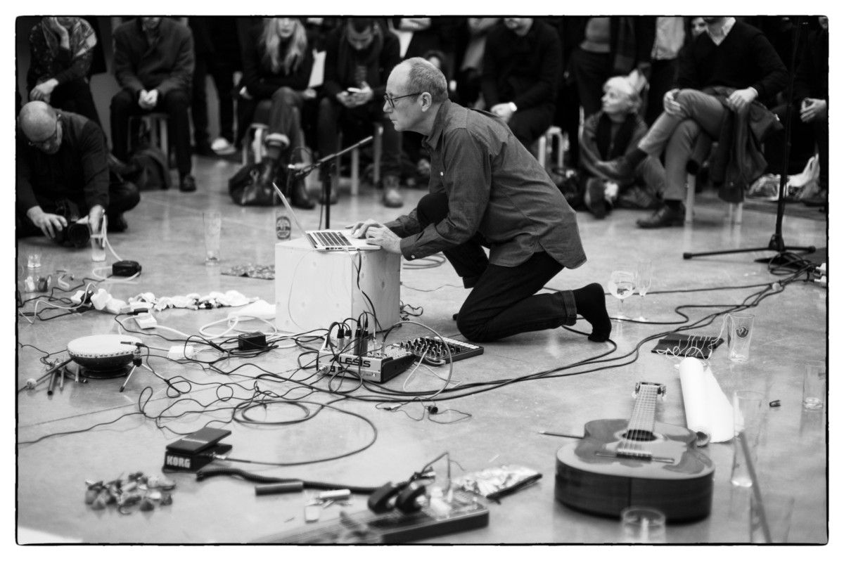 """I'm listening """"I can remember an incident with my mother, when I was quite small."""" David Toop's words are carefully measured, like he's meticulously constructing a sonnet from thin air as he puts them together. It lends a kind of poignancy to everything he says, something that demands the listener'"""