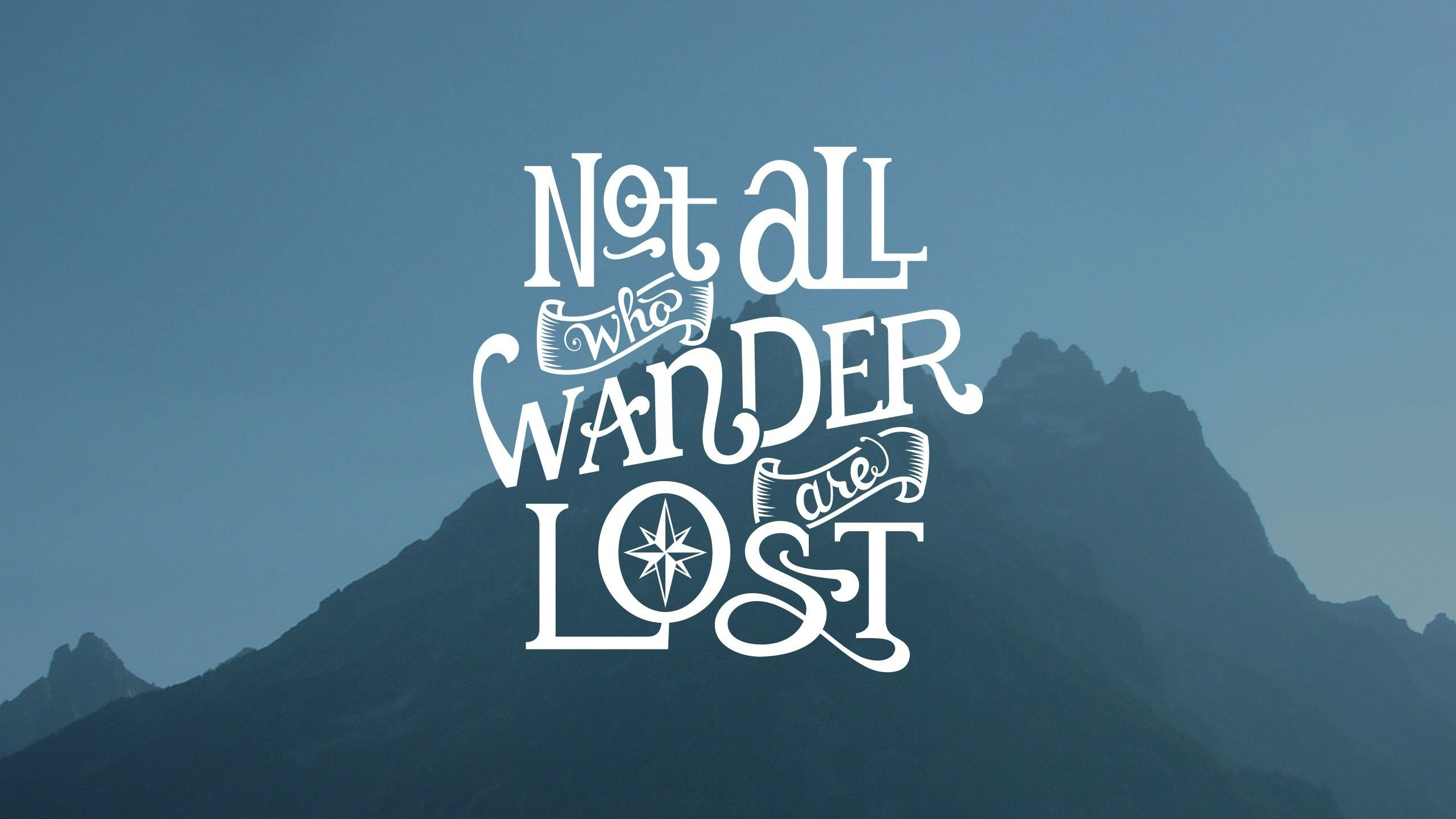 Making it rain wallpapers up in here! Typography quotes