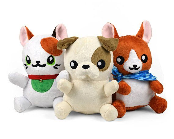 Pudgy Pet Dog Cat Plush in Minky Faux Fur Puppy Kitty | Products ...