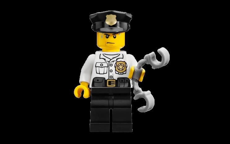 Astor City Police Man Personajes Lego Police Lego Minifigs Legos